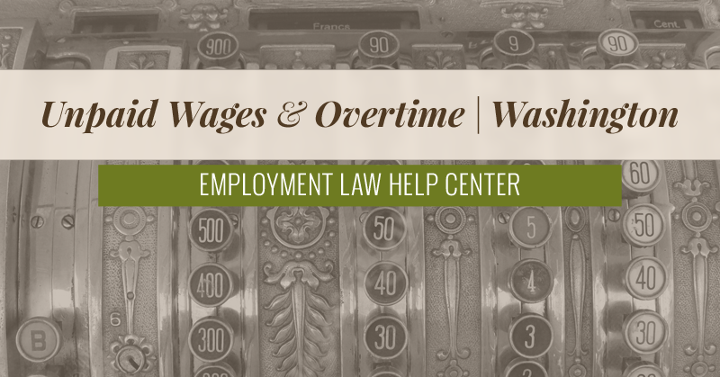 washington state labor laws overtime pay