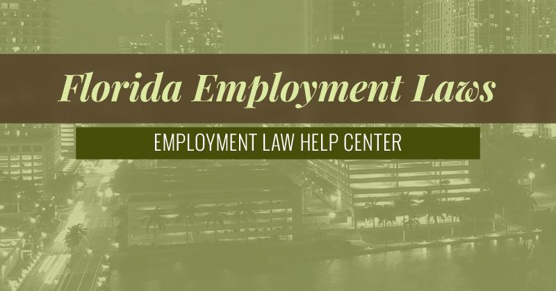 Florida Employment Law Help Center